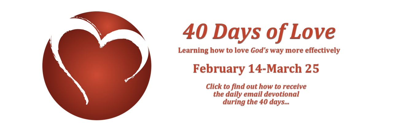 40 Days of Love banner